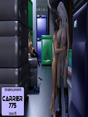 Carrier 775 - Issue 5 by Kerabera | Sex & Porn Comics