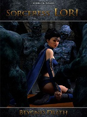 Hibbli3D – Sorceress Lori – Beyond Death | Monster Sex Porn Comics