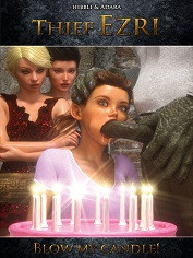 Hibbli3D – Thief Ezri – Blow My Candle! | Sex Comics
