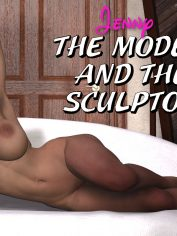 DarkCowBoy-Jenny-The model and the sculptor