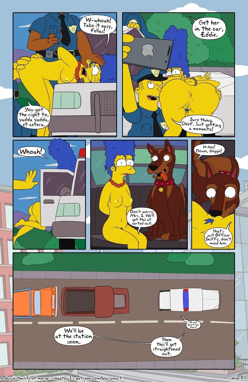 Marge porno Bart Simpson