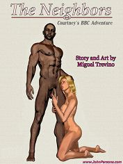 John Persons – The Neighbors (Miguel Trevino) – Interracial Sex & Porn Comics